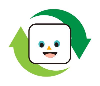 循環型社会(リサイクル)に適応しています。